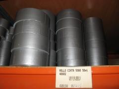 Rollos de cinta americana.