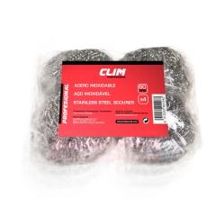 Estropajo de acero inoxidable 60 gramos clim profesional