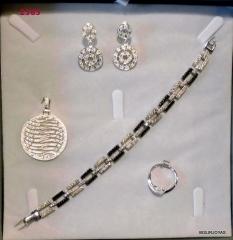 Conjunto plata circonitas