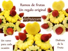 Ramos de fruta natural. Disfrutessen, Barcelona. 93 457 85 46