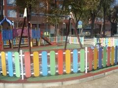 Juegos infantiles ( caucho reciclado)