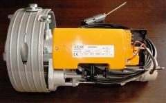 Nuevo motor titan acm para cierre enrollable con polea de 200/240 y eje de 48 y 60 hasta 170 kg