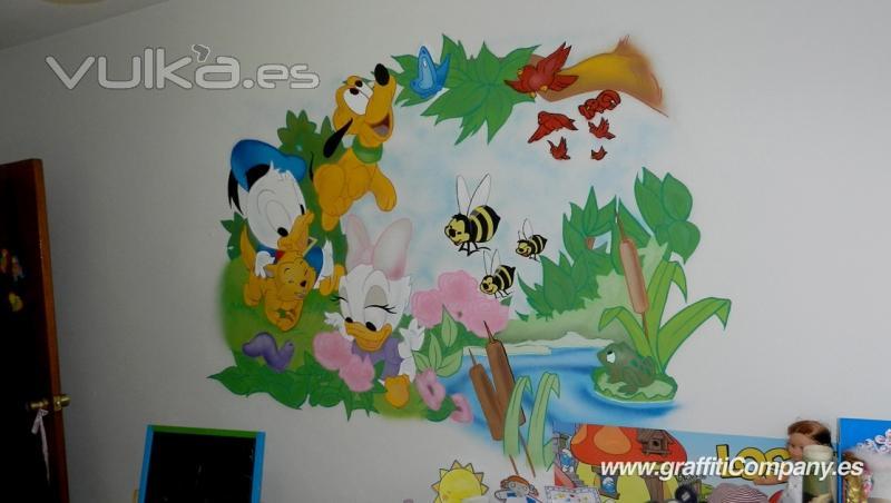 Graffiti company - Mural pared infantil ...