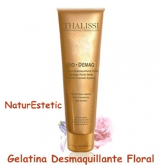 Mollet del vallès. gelatina desmaquillante floral de thalissi. bio demaq.