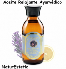 Mollet del vall�s. aceite relajante ayurv�dico. relaxing oil. thalissi. aromaterapia y fitoterapia.
