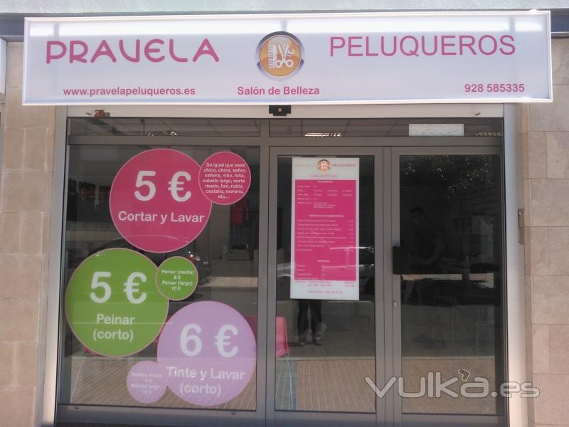 Foto fachada salon de belleza - Fachadas de peluquerias ...