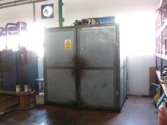 Horno de secado de motores y transformadores.