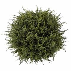 Plantas artificiales. planta bola cedro artificial verde 40 en la llimona home