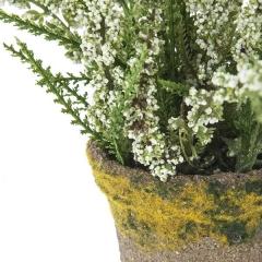 Plantas artificiales con flores. planta astilbe artificial blanca 16 en la llimona home (1)