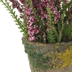 Plantas artificiales con flores. planta astilbe artificial rosa 16 en la llimona home (1)