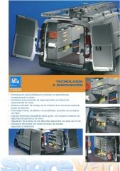 Equipamiento interior de furgonetas inansur