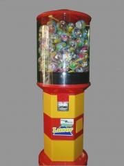Expendedoras de bolas de juguete.