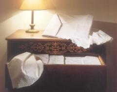 Sabana bordada ,de hilo ,dos piezas ,,,funda de almohada y encimera