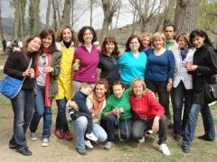 ¡Chicas en el segundo meeting paellero!