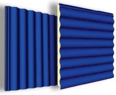 Panel ondulado