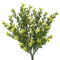 Plantas artificiales con flores. planta flores margaritas artificiales amarillas la llimona home
