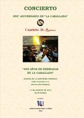 Concierto Arc Roseaux en Atienza 11 de Agosto