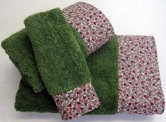 Juego de toalla,combinada de 3 piezas
