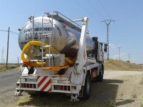 alquiler camion cisterna agua