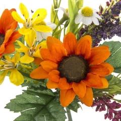 Ramos artificiales. ramo flores artificiales mini silvestre amarillo 29 en la llimona home (1)