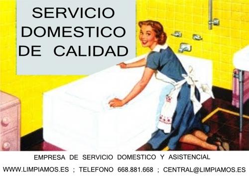 Empresa de servicio domestico. No te compliques con la nueva ley de empleadas del hogar.