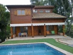 Casa de madera 2 plantas