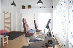 Sala de ejercicio cardiovascular y funcional
