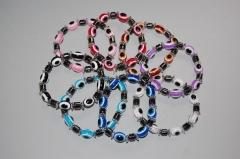 Nuevo regalo promocional durante el mes de agosto 2012, gratis tu pulsera de la suerte ojo turco con