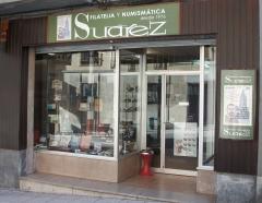 Nuevo establecimiento de Filatelia y Numismática Suárez