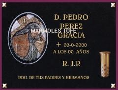 Lapidas tumbas panteones nichos trabajos cementerio restauraciones figuras grabados