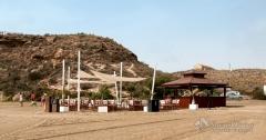 Chiringuito paradise beach, calarreona, aguilas, murcia