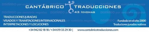 942 82 18 18 / 619 33 29 30 info@cantabricotraducciones.com www.cantabricotraducciones.com