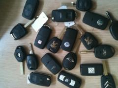 carcasas mandos de coche