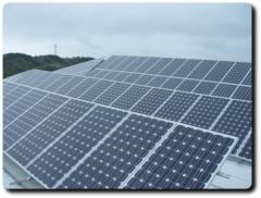 Instalaci�n solar sobre tejado