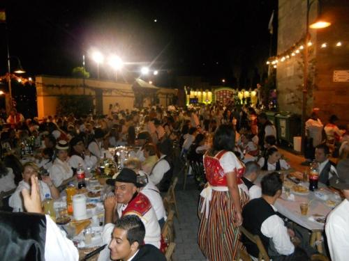Fiesta de Magos, La Papada en La Guancha, 25/08/2011