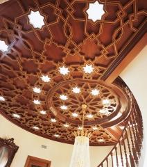 Artesonado madera. ebanister�a arenas. fabricacion a medida de creaciones exclusivas en madera.