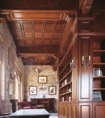Biblioteca de madera. ebanister�a arenas. fabricacion a medida de creaciones exclusivas en madera.