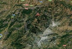 Candelario mapa