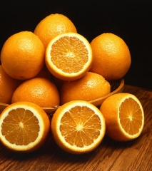 Naranjas de la huerta de m�laga