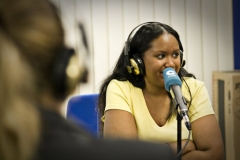 Saint louis student, sherene awong talks about chicago on the radio station cadena cope.
