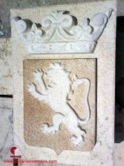 Escudo leon -canteras leonesas-