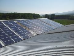 Energ�a solar con estructura 2d