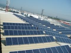 Instalacion solar en nave industrial