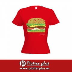 ¡las chicas son guerreras! camisetas poptime exclusivas para chicas en plotterplus