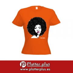 �las chicas son guerreras! camisetas poptime exclusivas para chicas en plotterplus