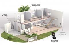 Termostato programable para control ambiente