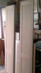 Puertas de armario en construcción