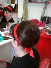Es posible  en mi pelu hacer un moño con pelo bastante corto