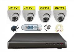 Kit 4 camaras + 420tvl + videograbador 500gb desde 400eur l.o.p.d. gratis