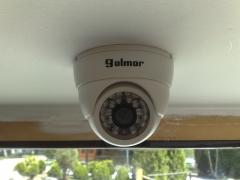 Instal.lació de càmeres de vídeo vigilància. càmping vall de camprodon